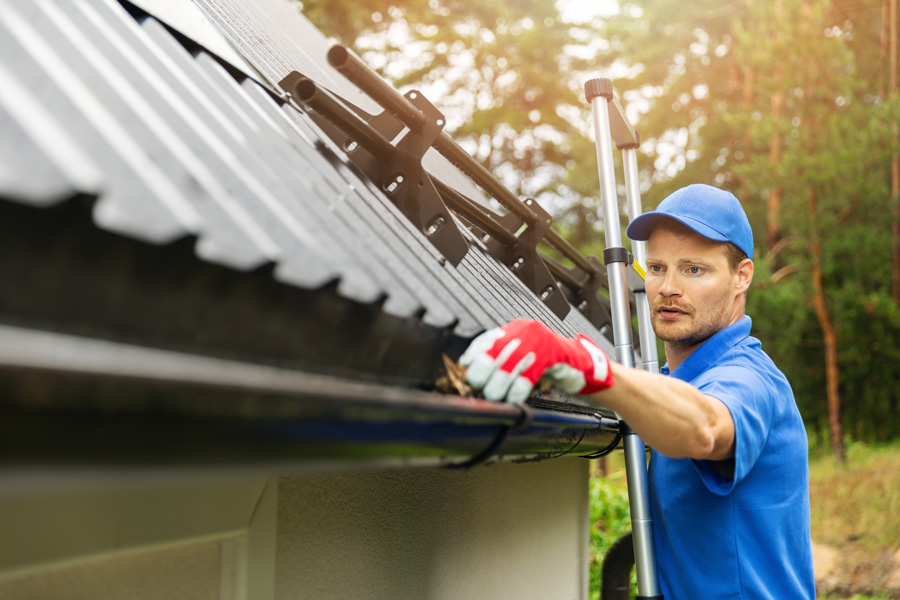 Gutters need replacing