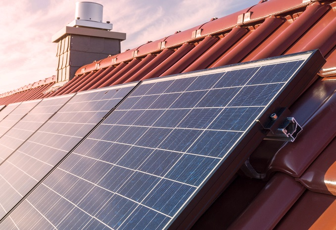 The direction of your roof is important when installing solar panels