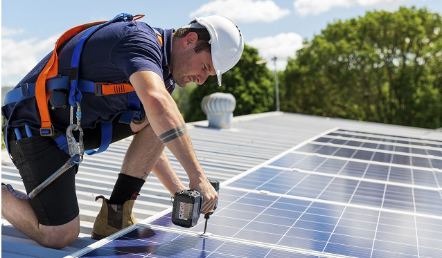 Make sure you get your solar panels installed by a professional