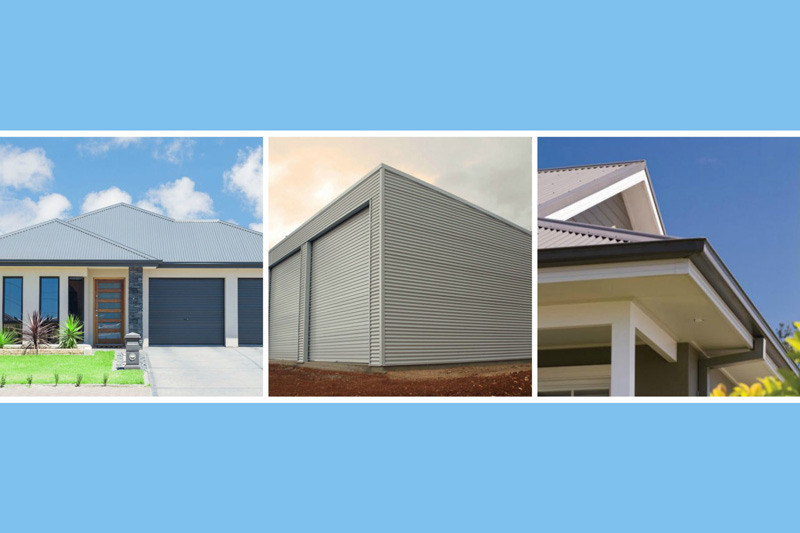 Meta roofing