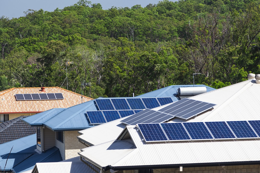 Australian properties have a variety of different roof types