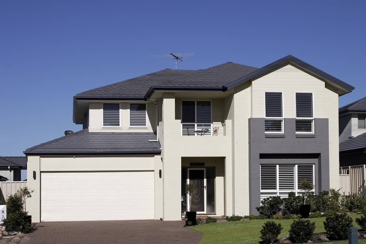 A new home in Australia with good balance