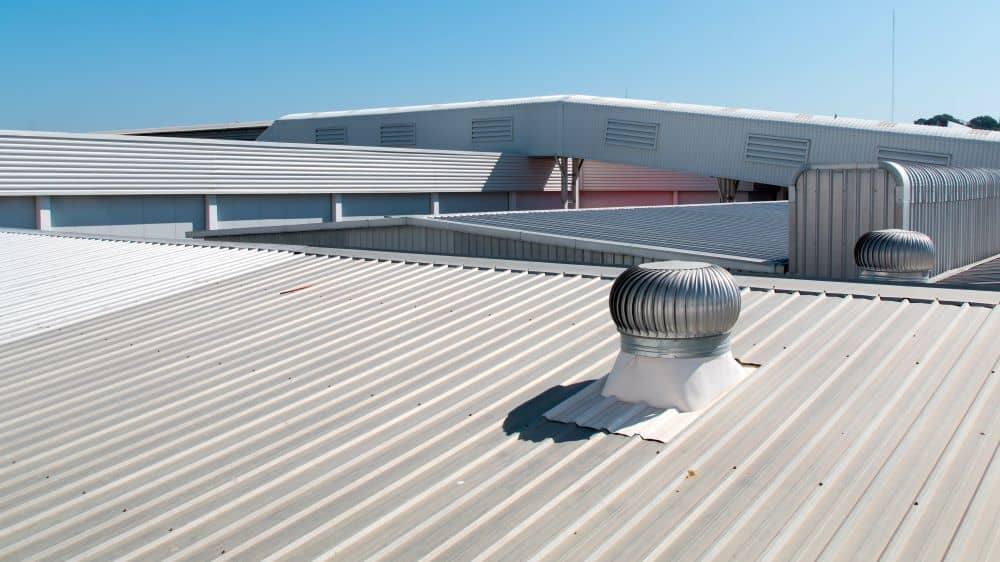 Commercial roofs are typically flat but require more inspections and upkeep than residential roofs.