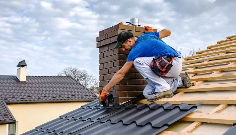 Perth Roofing & Gutters can install roofing with chimneys.